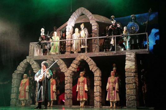 «Черная палата», или Пожар на сцене Тинчуринского театра