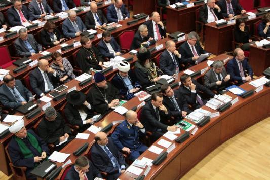 В казанском Кремле дружно отказались от толерантности