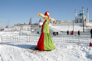 В Казани отпраздновали Масленицу