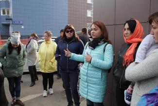 В ГЖФ испугались рассерженных мамочек из «Салават Купере» и вызвали полицию