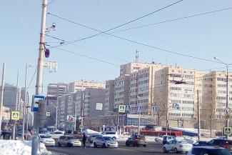 Камеры в Казани начинают ловить водителей «на пешеходов»