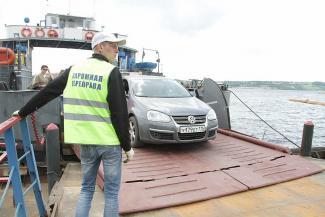 Казанцев напугали угрозой аварийного закрытия моста через Волгу