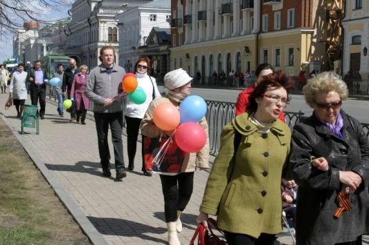 Первомайский митинг: нарушение без нарушителей?