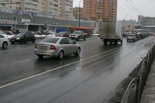Примитивное изображение организации дорожного движения