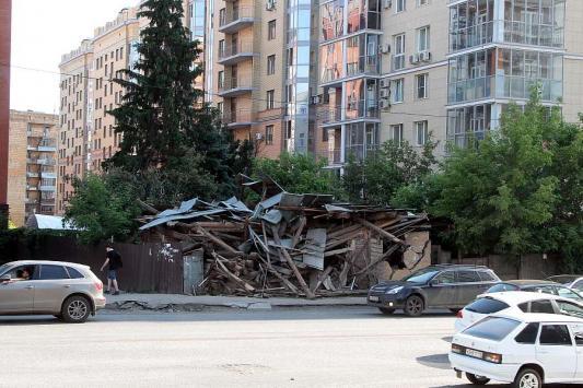 В Казани снесли «памятник упрямым собственникам»