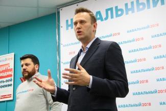 Алексей Навальный в Казани: «Кремлевские татарских киданули»