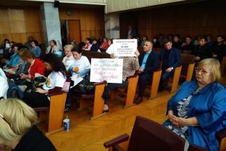 Ничего себе комфорт: на слушаниях по генплану жителям Кварталов не смогли объяснить, зачем надо застраивать берег Казанки