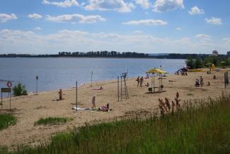 Казанцам на пляже «Нижнее Заречье» посулили аквапарк, а они просят туалеты и кабинки для переодевания