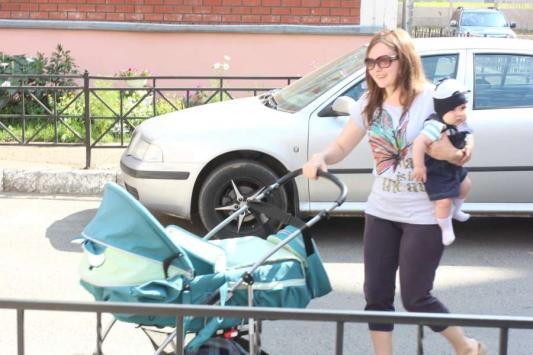 Младшего сына Зульфия поставила в очередь на второй день после рождения