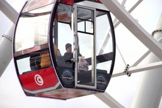 «Вокруг света» за 18 минут: в Казани запустили новое колесо обозрения (ФОТО)