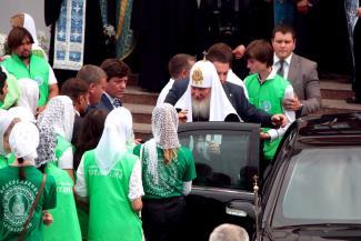 Патриарх Кирилл: «Явление иконы Божией Матери примирило русский народ с татарским»