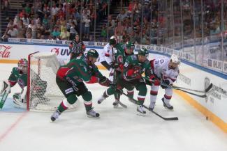 В Казани жара и хоккей: «Ак Барс» стартовал с победы