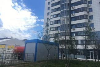 Запах мундиаля: жильцы дома у казанской «Чаши» протестуют против общественного туалета под окнами