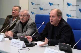 Пресс-конференция перед началом работы отборочной комиссии
