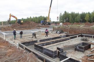 Строители «города мертвых» под Казанью работают на опережение