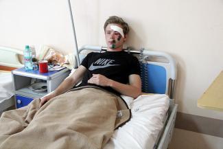 После прогулки по Кремлевской набережной казанец загремел в больницу