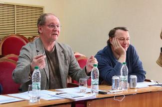 Башаров и Вержбицкий искали в Казани таланты для Михалкова