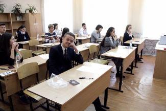 В Казани сдали ЕГЭ по математике: шоколадки без оберток, вода без этикеток и никаких таблеток