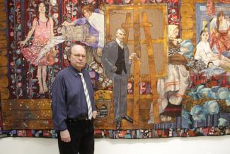 Казанский художник создавал уникальный ковер-картину 12 лет