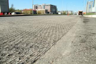 В Казани сдирают асфальт, уложенный к приезду ВВП