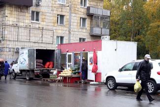 В Казани ларьки наступают по всем дворам