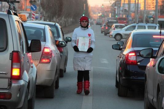 Попрошайки нового образца в Казани спасают детей неизвестно от чего