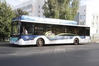 Не шумный, не тряский и не красный: в Казани тестируют электробус