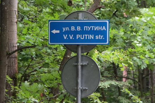 В дачном поселке под Казанью появилась улица Путина