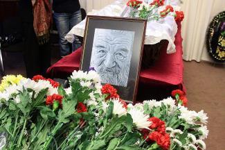 В Казани простились с поэтом, который смеялся над смертью