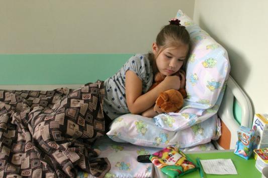 Процветающая республика экономит на больных детях