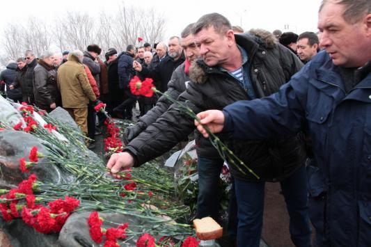 В Казани почтили память погибших на Афганской войне