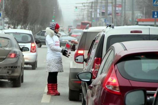 Казанская полиция с попрошайкой не справилась