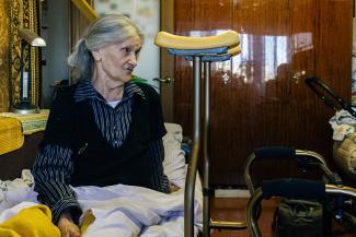 В Казани пенсионерка требует у жилищников 5 миллионов за сломанную во дворе ногу