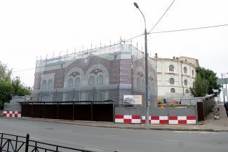 На месте кинотеатра «Спутник» в Казани построят торговые лавки