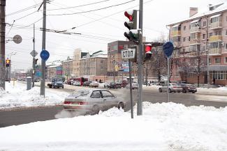 Казанских водителей на Компрессорном огрели «кирпичом»