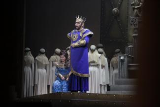 Шаляпинский фестиваль в Казани открылся оперой о власти и любви