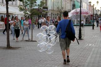 Как он провел лето: казанский школьник заработал состояние на китайских светящихся шариках
