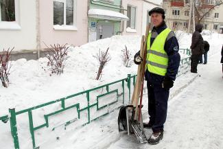 Снегоуборка в Казани обходится без метания яиц и пальбы из травматов