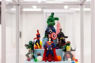 В Казани проходит выставка авторских тортов