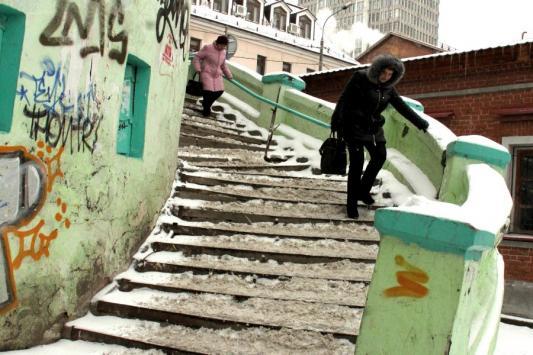 Эта лестница лишь чудом не обошлась казанским налогоплательщикам в 1,8 млн рублей