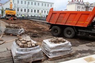 Власти Казани обещают вернуть брусчатку на Лебедевский мост через Булак