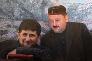 Казанский автор портрета Ахмата и Рамзана Кадыровых: «Может, добавить туда овечку?..»