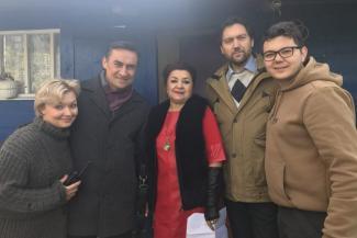 Казанцев приглашают сняться в кино с Камилем Лариным
