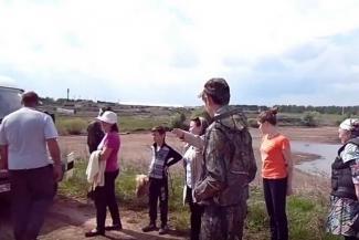 В Татарстане сельчане спасают пруд от пришельцев