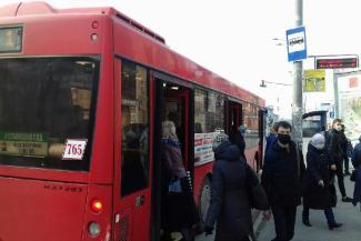 Кто куда, а я работать: вышедшие из самоизоляции казанцы жалуются на толкучку в автобусах