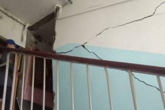 «Подумал, дом рушится»: казанскую хрущевку тряхнуло взрывом газа