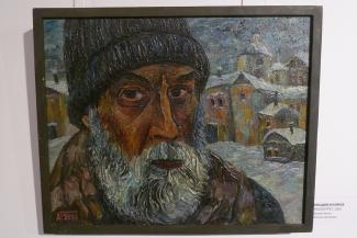 «Увидел в ветке сирени целый мир»: картины художника-самородка Геннадия Архиреева доставили на выставку в Казань с автоматчиками