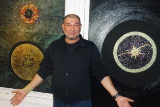 «Черный квадрат» - на свой лад: как казанский сварщик из жилконторы заделался художником-сверхмодернистом