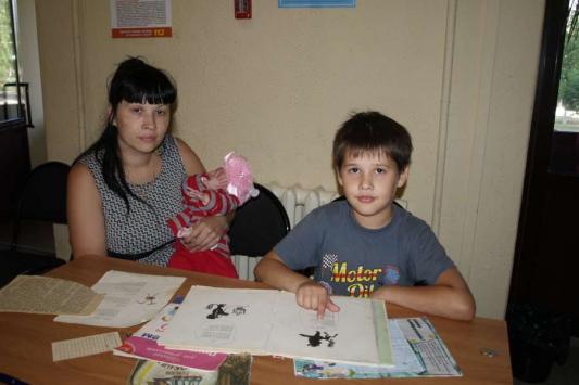 Максим Гречковский из Донецкой области пойдет в 95-ю школу