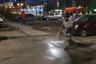 В Казани собираются начать поливать дороги хлоркой, как в Альметьевске
